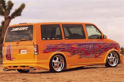 95-05 Chevy Astro Body Kit Urethane Python Style 4 Pcs Van