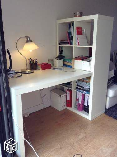 Bureau Avec étagère Ikea  Cuisine En Image