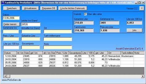 tankbuch tankkosten tankstatistiken benzinverbrauch