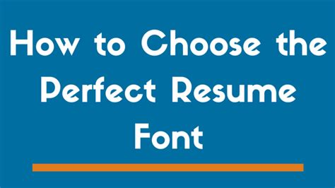 Best Font Size For Resume by Top 8 Best Fonts To Use On A Resume In 2019 And 3 To