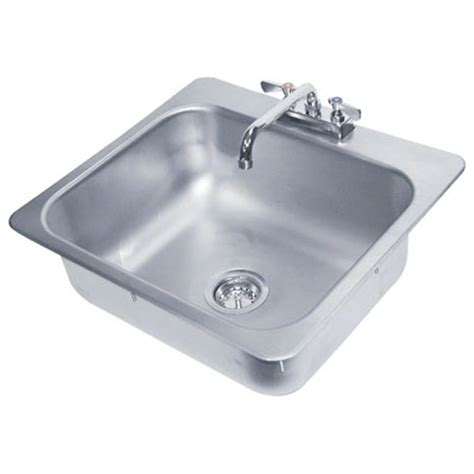 drop in hand sink advance tabco di 1 25 1x drop in hand sink 9 quot x9 quot x5 quot bowl w