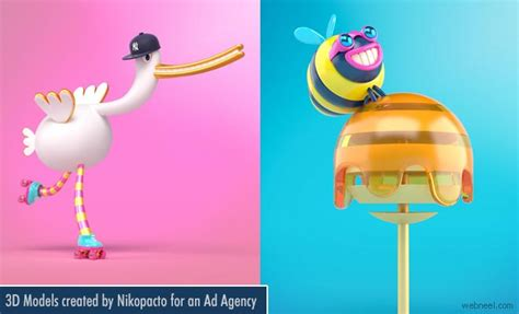 cute  models  character designs created  nikopacto
