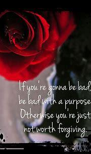 Damon Salvatore quote. Red rose wallpaper. | Damon ...