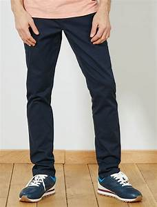 Pantalon Bleu Marine Homme : pantalon skinny esprit battle homme bleu marine kiabi ~ Melissatoandfro.com Idées de Décoration