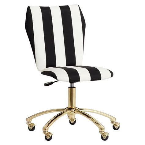 the emily meritt stripe airgo chair pbteen
