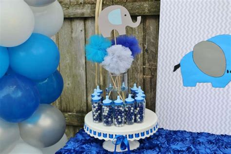 Elephant Theme Baby Shower Party Ideas
