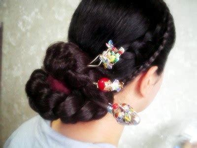 korean traditional korean hairdo  women