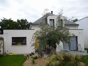 Choisir Couleur Facade Maison : photos de maisons neuves couleur de l enduit ~ Nature-et-papiers.com Idées de Décoration