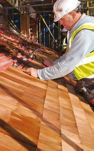 How To Install Cedar Shingles On A Pitched Roof