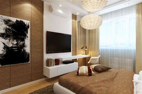 tv in the bedroom small bedrooms use space in a big way