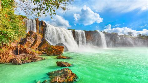 Waterfall Background by High Quality Waterfalls Wallpaper Background