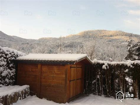 chalet for rent in saulxures sur moselotte iha 12529