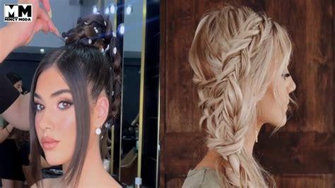 Peinados Fáciles para Cabello Corto & Largo Tutorial ️