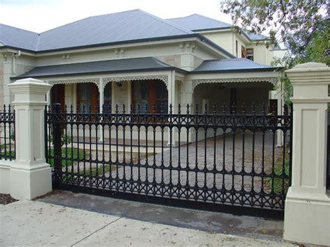house gates and fences sturt cast aluminium fences gates traditional home fencing and gates adelaide by