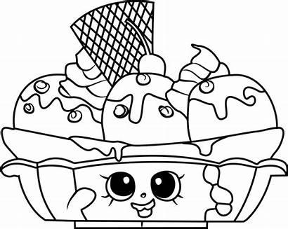 Shopkins Coloring Printable Shopkin Banana Waffle