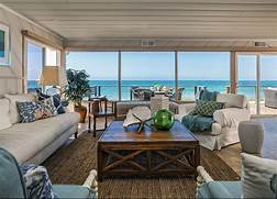 Beautiful Home Design With Modern Vintage Interior Ocean View Ocean Views Natural Textures And Slipcovered Furnishings Tones Of
