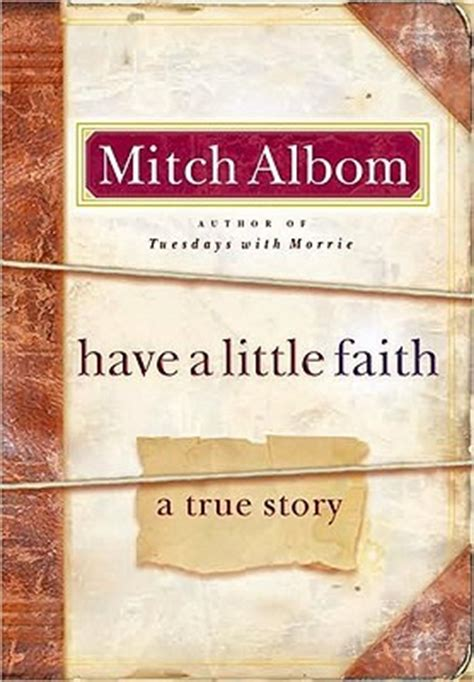 faith  true story  mitch albom reviews