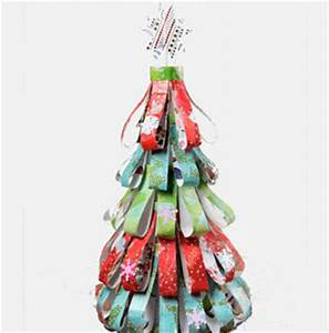 Dazzling Decoupage Holiday Tree