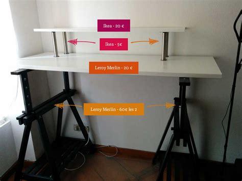 chaise de bureau leroy merlin mon bureau assis debout standing desk pour moins de 110 stéphanie walter design et mobile