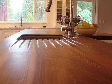 kitchen island butcher block tops choosing a wood countertop sealer j aaron