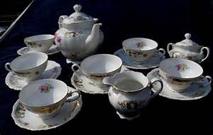 Seltmann Weiden Blaurand : seltmann weiden bavaria tea set germany mid 20th ~ Watch28wear.com Haus und Dekorationen