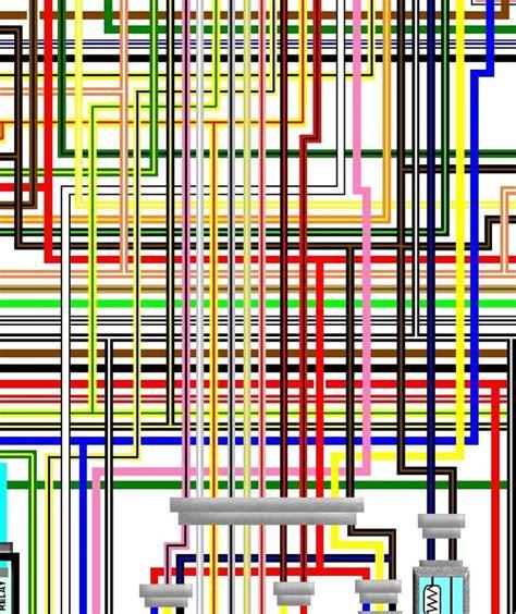 Suzuki Gsx Spec Colour Wiring Harness Diagram