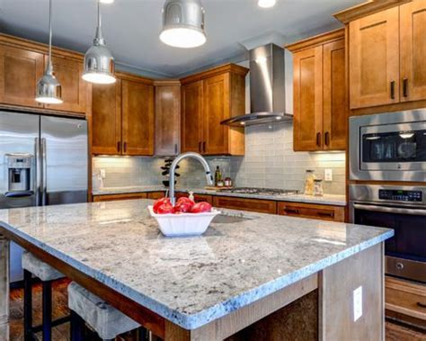 Dallas White Granite   Houzz
