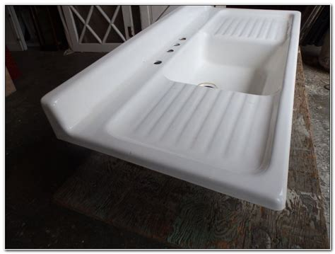Double Drainboard Porcelain Kitchen Sink Sinks And Faucets Paintings For Living Room India The Bar Belfast Den Combo Ideas Floor Lamps Cheap Flexsteel Rocking Recliner Tiles Design Chennai Decorating At Christmas Furniture Vector