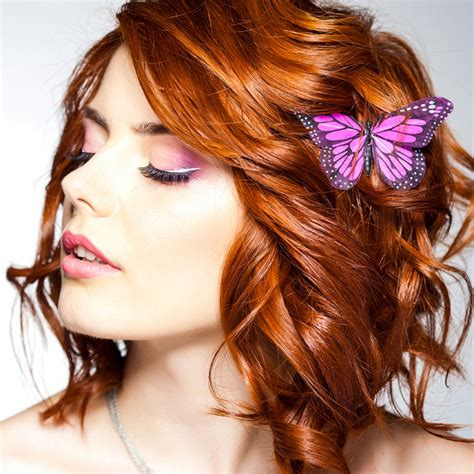 frisuren rote haare rot gef 228 rbte mittellange haare mit locken rote haare