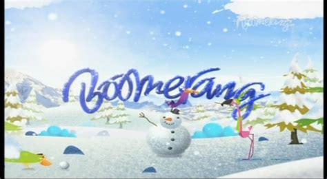 boomerang christmas  idents