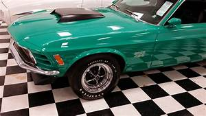 Rare 1970 Ford Mustang Boss 429 Grabber Green ~ For Sale American Muscle Cars