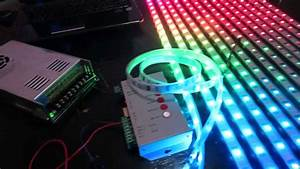 How To Build An Led Display   1 Basic Wiring And Setup Of Ws2801 Leds