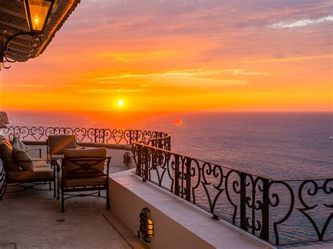 sunset balcony villa la roca