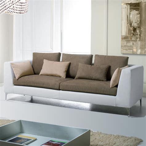 canapé cuir moderne canape tissu moderne maison design wiblia com