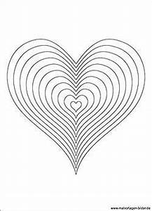 Herzen Malvorlage Fr Erwachsene Und Kinder Malvorlagen