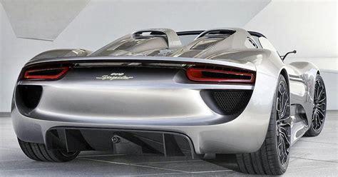Find this pin and more on porsche 918 spider. Automobile Trendz: Porsche 918 Spyder : Rear View