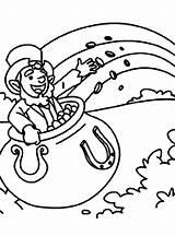 Coloring Pot Leprechaun Gold Pages Rainbow Inside Printable Coin Myrrh Frankincense Dali Salvador Getcolorings Getcoloringpages Getdrawings sketch template