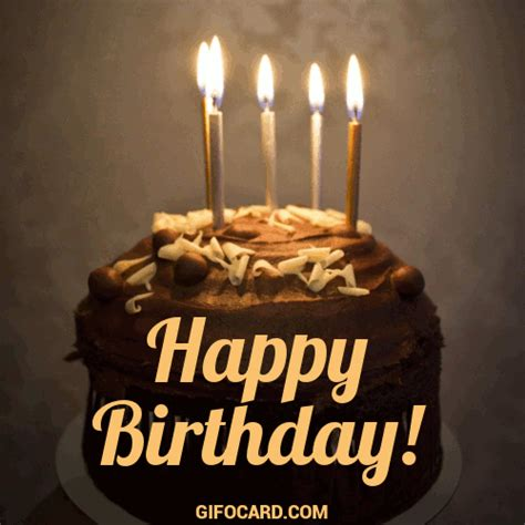 happy birthday cake gif   tap  send ecard