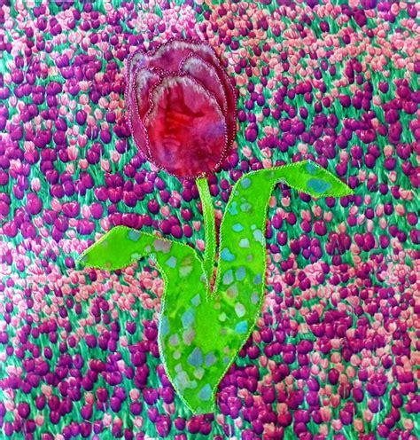tulip applique quilt block pattern favequiltscom