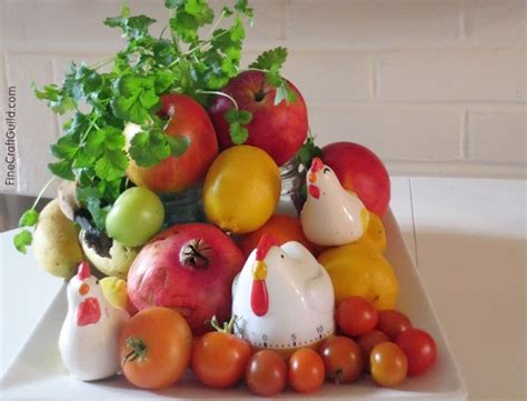 centerpiece ideas  fruit  vegetables