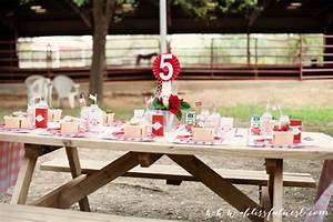 Friday Feature Lauren39s Horse Party By A Blissful Nest