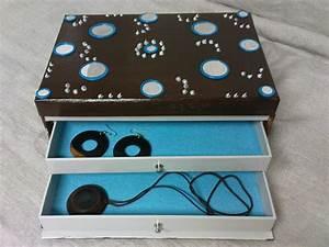 Boite A Bijoux : boite a bijoux fabriquer ~ Teatrodelosmanantiales.com Idées de Décoration