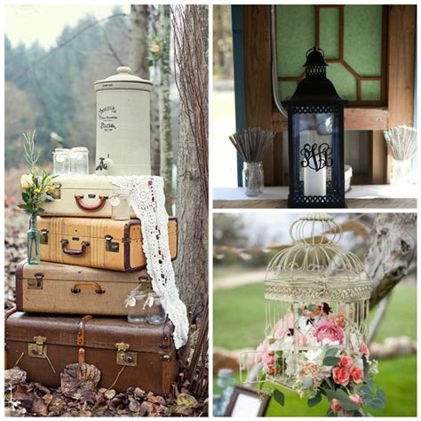Outdoor Vintage Wedding Decoration Ideas
