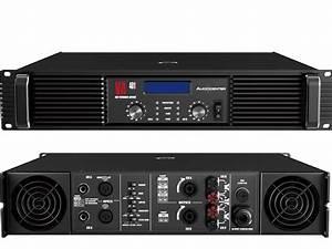 Power Amplifier  2x400w   8ohms  2x800w   2ohm