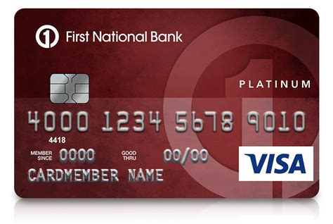 Maybe you would like to learn more about one of these? Platinum Edition® Visa® Credit Card | First National Bank ...