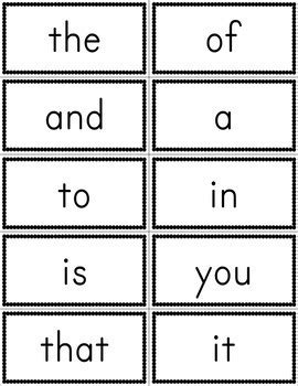 site words for preschoolers flashcards fry 100 sight word flashcards free by amanda s 633