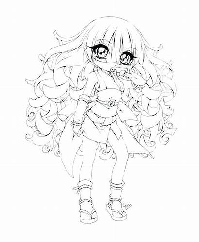 Coloring Anime Pages Chibi Emo Printable Getcolorings