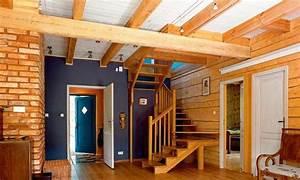 Jakie belki na strop drewniany