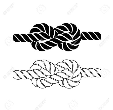 Boat Rope Clipart by Marine Clipart Nautical Rope Pencil And In Color Marine