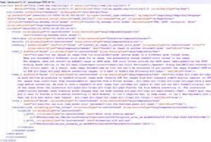 XML Data File Example